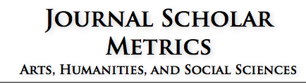 Journal Scholar Metrics