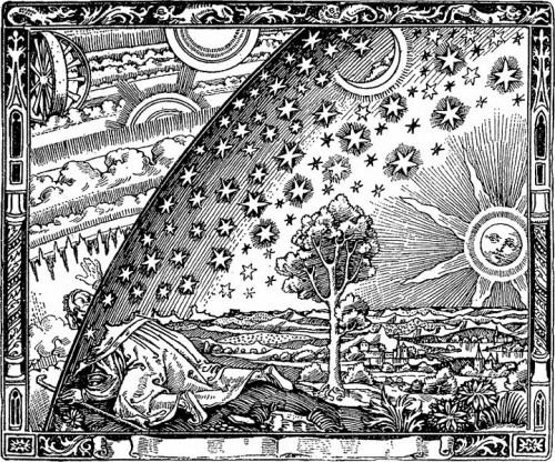 Aus Camille Flammarion, L'Atmosphere: Météorologie Populaire. Paris 1888, S. 163. (Digitalisat aus den Wiki Commons)