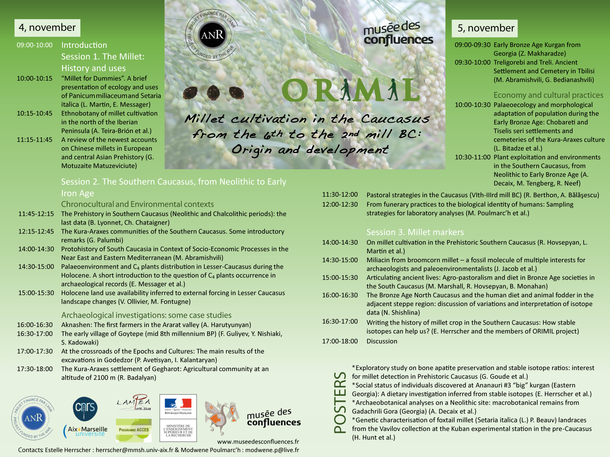 ORIMIL Affiche 2 program to print