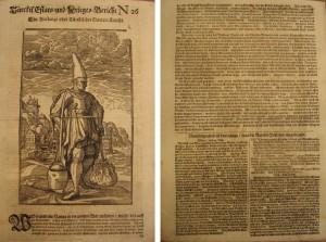 Türckis. Estats- und Krieges-Bericht Nr. 26. Hamburg: Thomas von Wiering, 1683, S. [1]r-v.