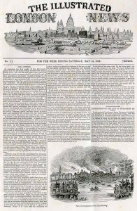 The Illustrated London News. Nr. 1, 14.05.1842, S. 1.