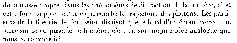 Photon CRAS 1927 Louis de Broglie mot