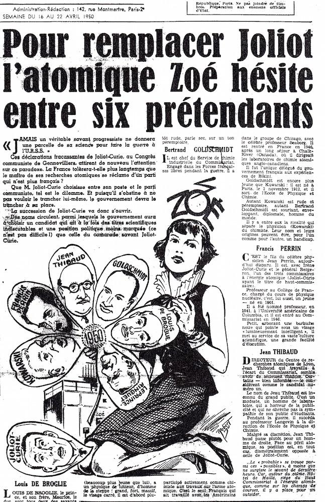 La Presse Zoé, 1950