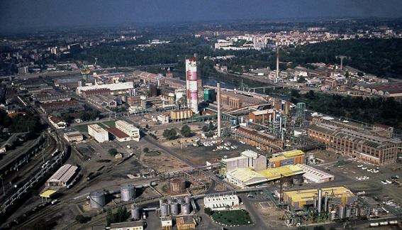 L'usine AZF avant l'explosion