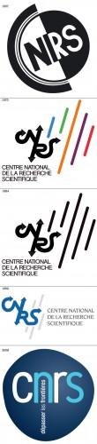 Évolution du logo CNRS
