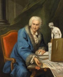 BERTRAND François, Portrait de Louis de Mondran, Huile sur toile, 1,29 x 1,27 m, Toulouse, Musée des Augustins, Inv. 2006 1 1, cliché Daniel Martin.