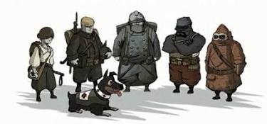 Capture d'écran du jeu Soldats inconnus – Mémoires de la Grande Guerre, Ubisoft, 2014
