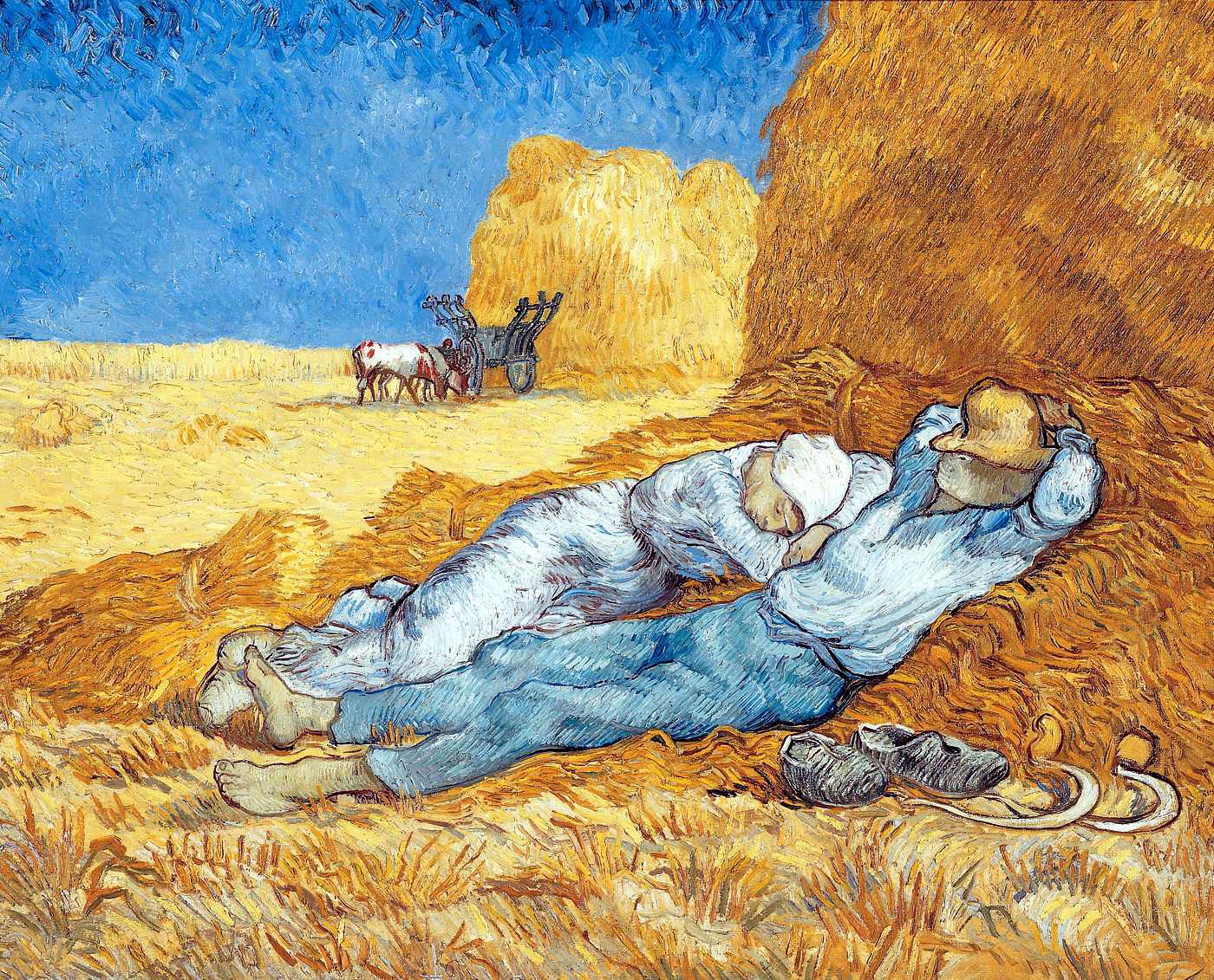 """Crédit Van Gogh """"La Méridienne 1889"""