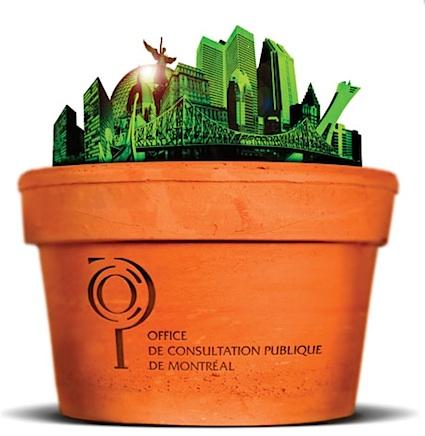 """Détails de l'affiche """"Montréal, un avenir à cultiver"""". Tous droits réservés Office de consultation publique de Montréal"""