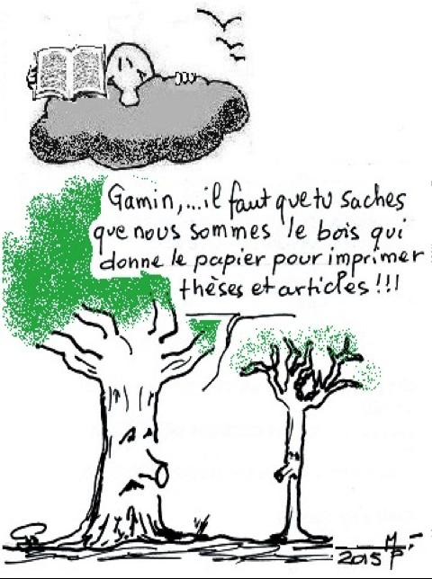 L'arbre dont on fait les thèses