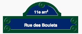 CC Wikimedia Commons https://fr.wikipedia.org/wiki/Rue_des_Boulets