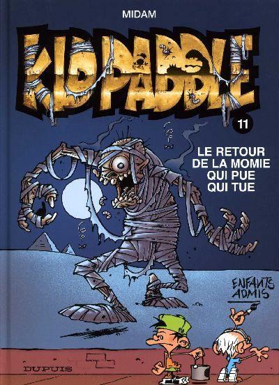Couverture de Kid Paddle -11- Le retour de la momie qui pue qui tue
