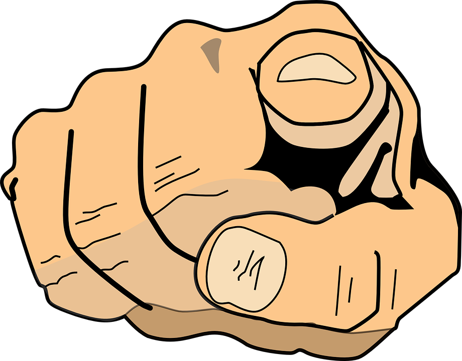 clipart man pointing finger - photo #20