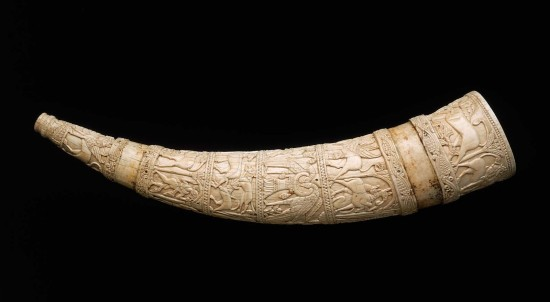 Boston, Museum of Fine Arts,57.581. Ivory, Southern Italy (probably Amalfi) about 1100