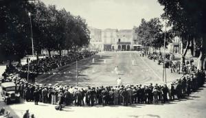 Scène de Jeu en 1935 aux alentours de Pézenas Photographie de Célia Delanoy