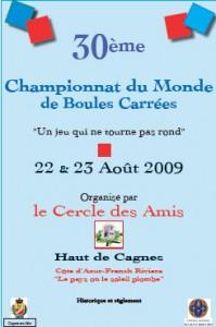 Affiche du concours de Cagnes-sur-Mer, 2009