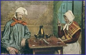 Carte postale ancienne, photographie fournie par Jean-Philippe Joly