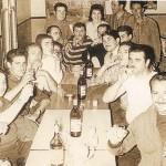 Assemblée générale de la FLE, Bar Albert, 1961, photographie fournie par Marie-Véronique Amella