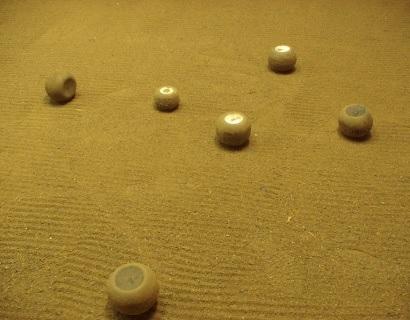 Jeu de boules concelloise, photographie fournie par Paul Niélassof