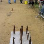 Terrain et quillier, photographie fournie par la Confédération FALSAB