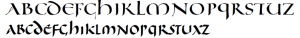 uncial script