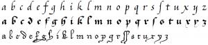 cursiva script