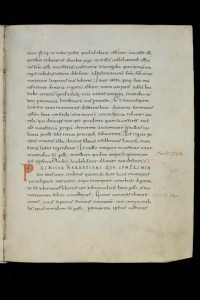 St. Gallen, Stiftsbibliothek / Cod. Sang. 562 – Vitae sancti Galli et Otmari / p. 65