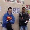 AUP et Kolone s'affichent ensemble sur les murs de Paris