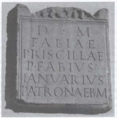 inscription from Alassio