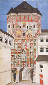 Wappenturm Innsbruck, 1499