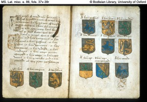 Bodleian MS Lat. misc. e. 86. f.37v-38r