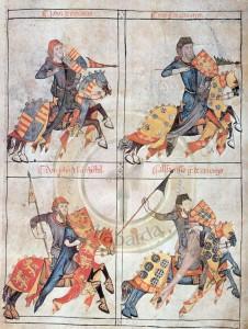 Burgos, Archivo Municipal, El libro de la Cofradía de Santiago. f.1v