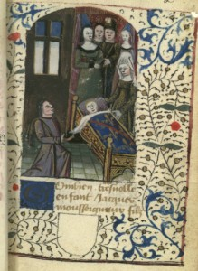 Clément Prinsault dedicates his Treatise on Blazon to Jacques d'Armagnac, son of the duke of Nemours (Paris, BnF, fr. 5936, fol. 2)