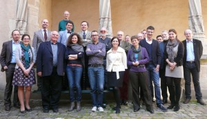 "The participants of the workshop ""Heraldic artists and painters in the Middle Ages"" in Münster (10-11 April 2014)"