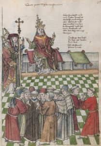 Wiener Handschrift des Richental Wappenbuchs 1