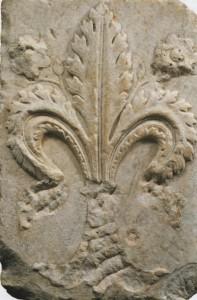 Lys florentin, fin du XIVe siècle. Cerreto Guidi, Villa Medicea e Museo storico della Caccia e del Territorio