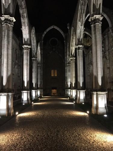 Nach dem Vortrag im Convento do Carmo (Foto: TH)