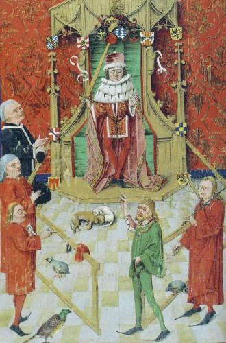 Lehenbuch of Frederick I, Elector Palatine, 1471 (via Wikipedia commons)