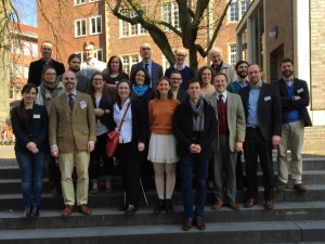 "The participants of the ""Heraldry in Medieval and Early Modern State-rooms"" conference"