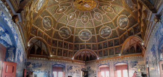 Sala dos Brasões, Palacio Nacional, Sintra (photo: Omashay.com)