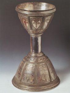 the chalice of the Florentine Priors, the photo from: Dal Giglio al David. Arte civica a Firenze fra Medioevo e Rinascimento, eds. M.M. Donato and D. Parenti, Firenze 2013, Guidi, p. 227