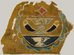 Textile fragment with rank