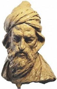 Buste de Sohravardî d'Alep. Fonds privé.