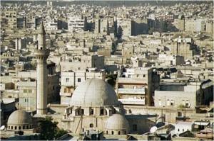 Vue d'Alep. Fonds privé.
