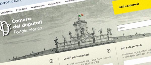 Storia del parlamento italiano filosofia storia for Portale camera