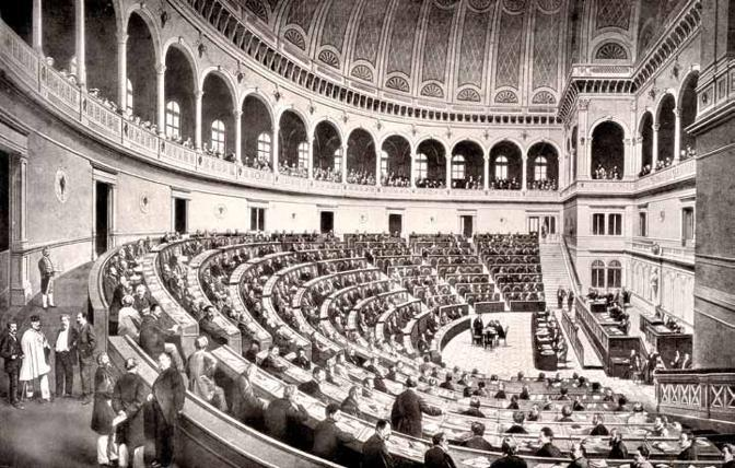 parlamento italiano filosofia storia