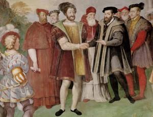 La tregua di Nizza del 1538 tra Francesco I e Carlo V
