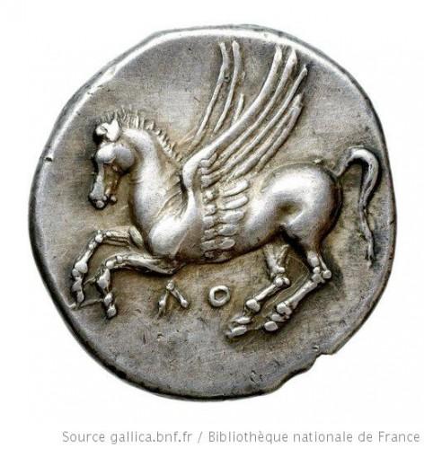 [Monnaie de Bruttium. Locres : Statère]