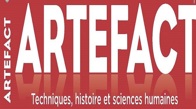 Artefact. Techniques, histoire et sciences humaines – PRESENTATION GENERALE