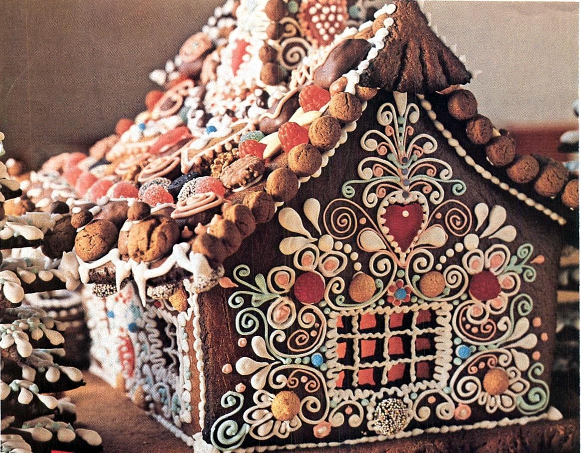 Пряничный домик своими руками купить